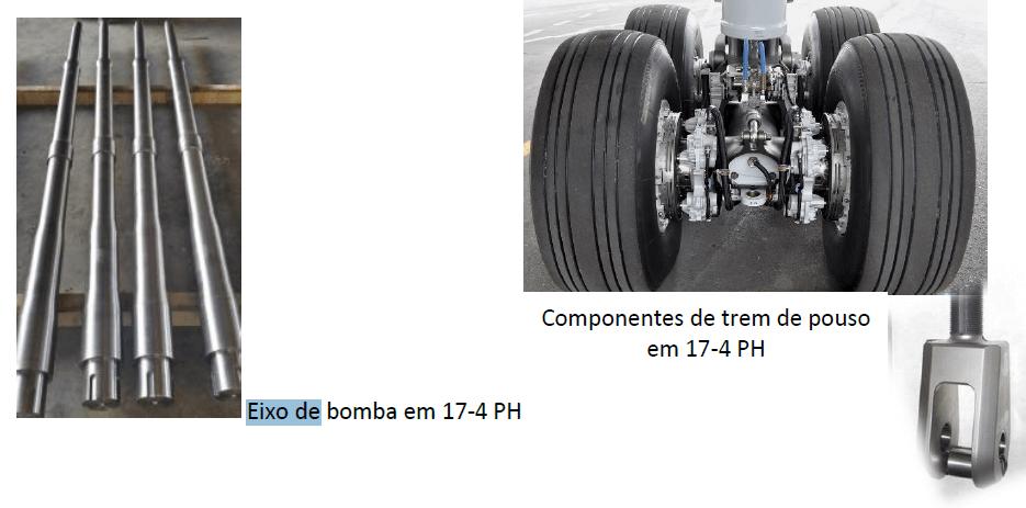 Engenharia de aplicação – Aço 17-4 PH (630 Cogne) para eixos de bombas