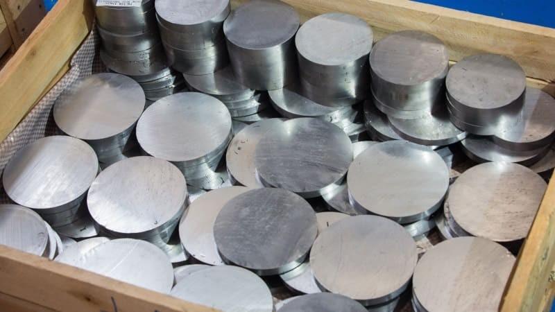 Venda de barras de aço inox